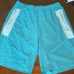 Lululemon Men's linerless workout shorts in XL